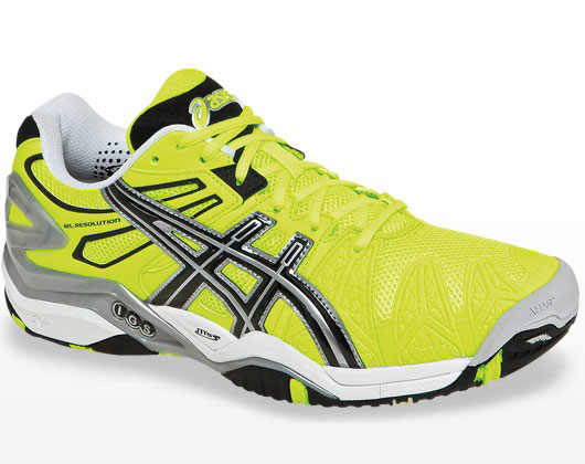 Asics Gel Resolution 5 Yellow   Black Men's Tennis Shoes Review