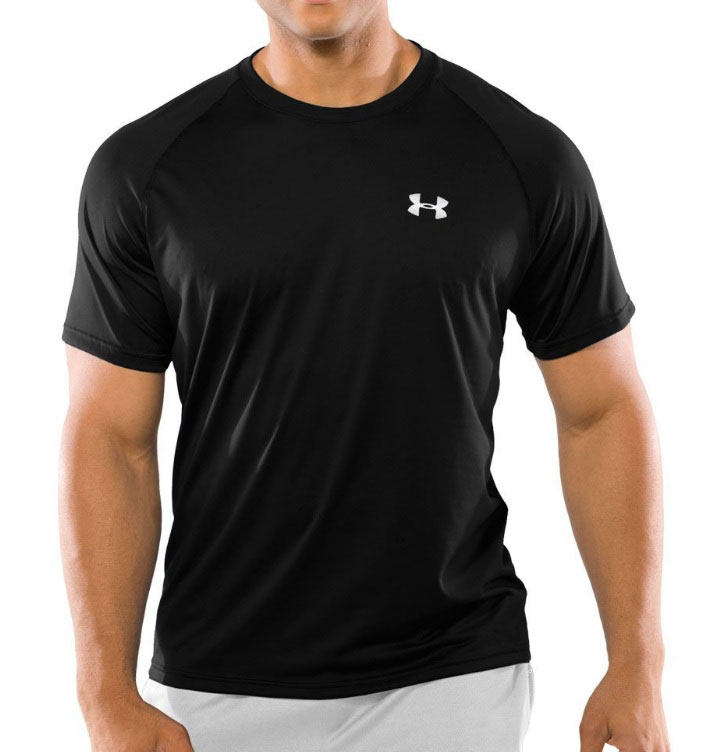 Under armour men 39 s new tech short sleeve performance tee for Under armour men s tech short sleeve t shirt