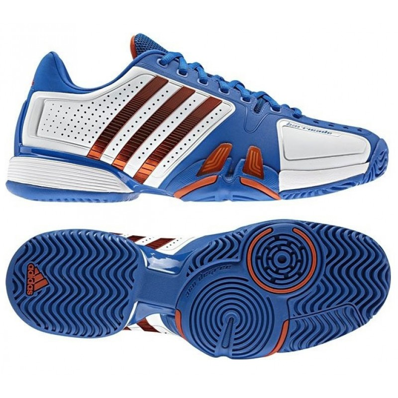 Adidas Barricade 7.0 White   Blue Men's Tennis Shoes Review