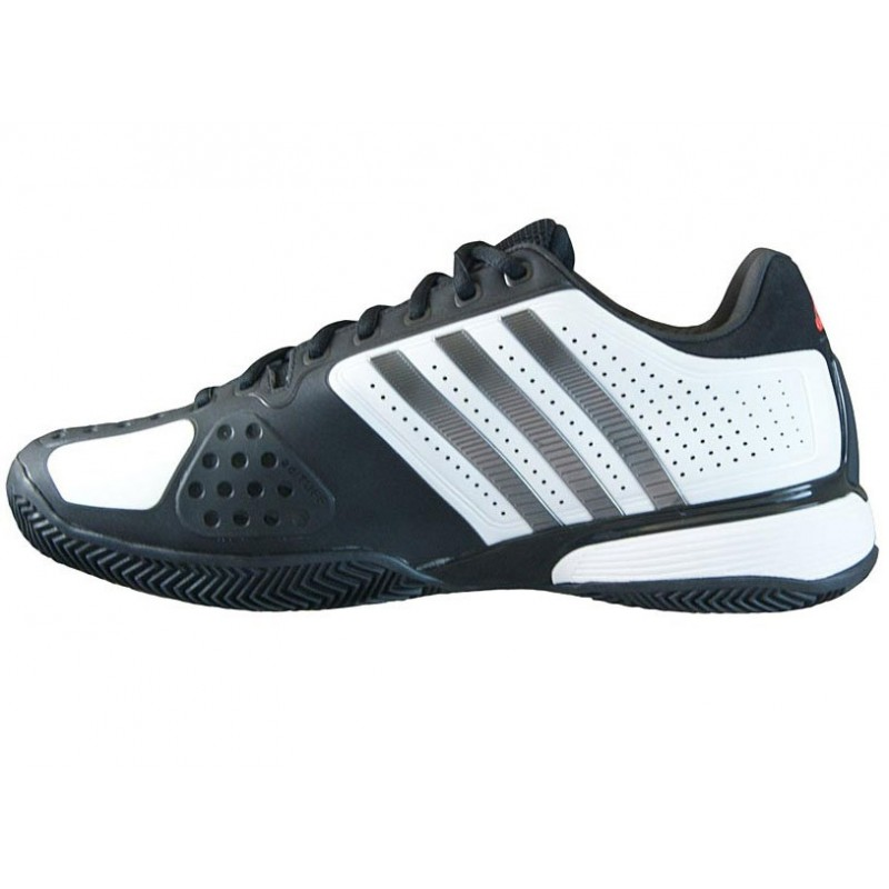 adidas barricade 7.0 white/black