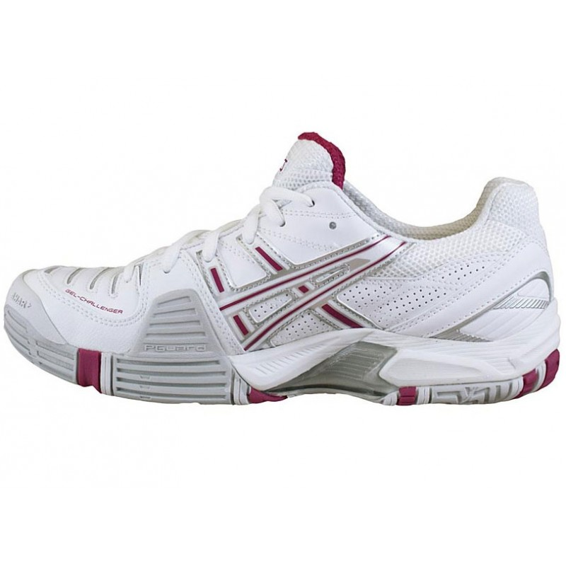 asics gel challenger 8 white pink s tennis shoes