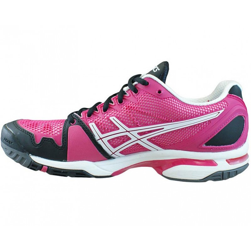 asics gel solution speed pink black s tennis shoes