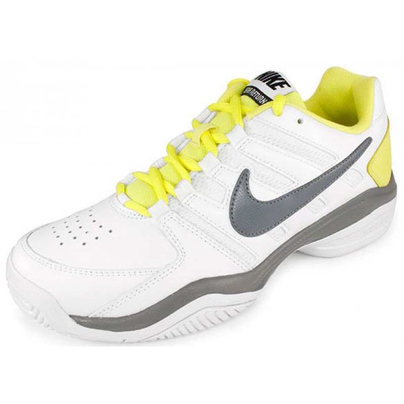 Nike Air Serve Return White   Yellow   Grey Women's Tennis Shoes ...