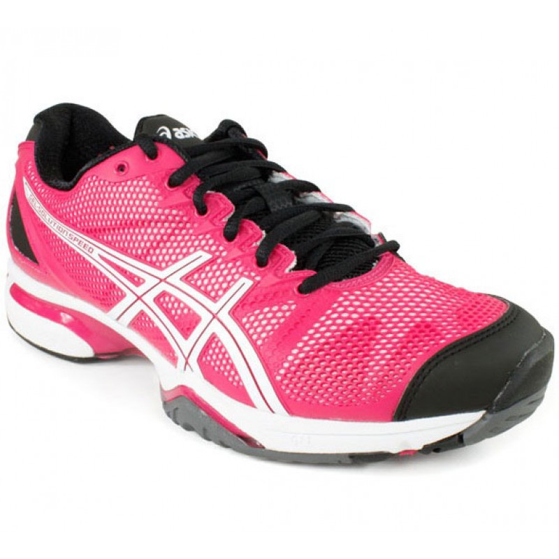 asics gel solution slam pink black s tennis shoes