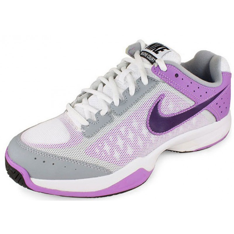 Black And Purple Nike Tennis Shoes