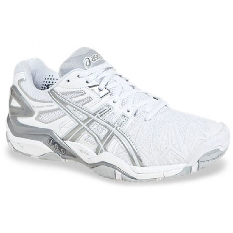 asics gel tennis trainers