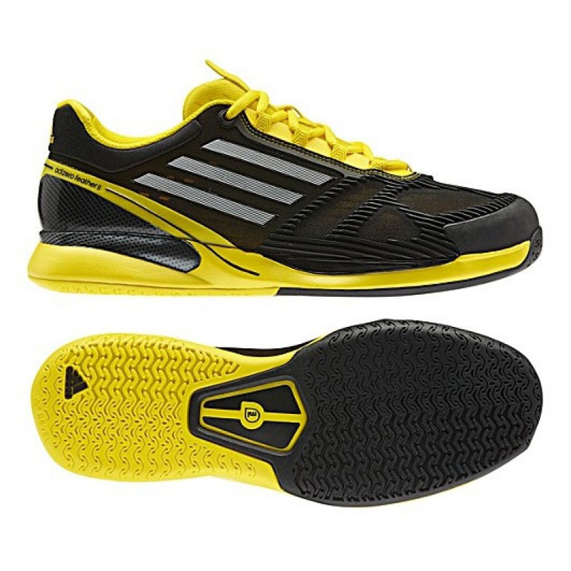 Adidas Adizero Ace II Black   Yellow Men's Tennis Shoes Review