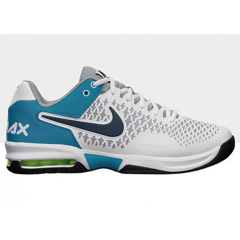 nike air max cage grey blue s tennis shoes review