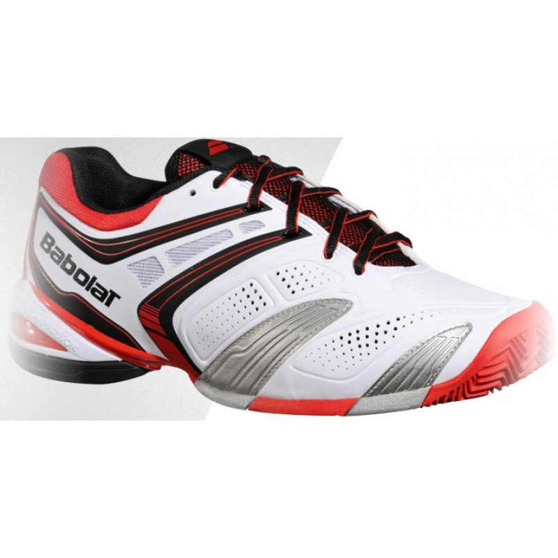 babolat v pro clay s tennis shoes review