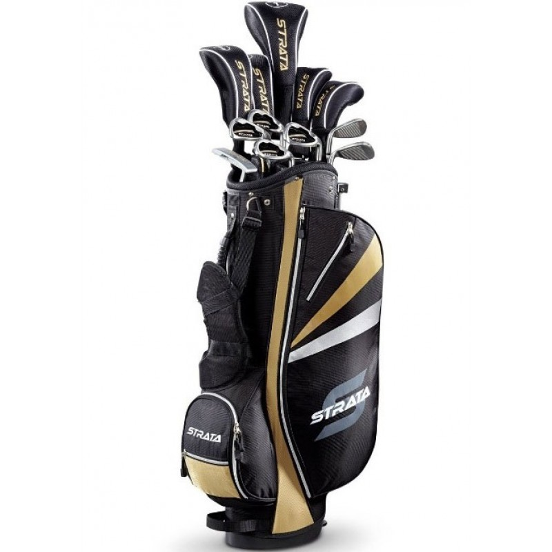 callaway strata plus men 39 s complete golf set with bag review. Black Bedroom Furniture Sets. Home Design Ideas