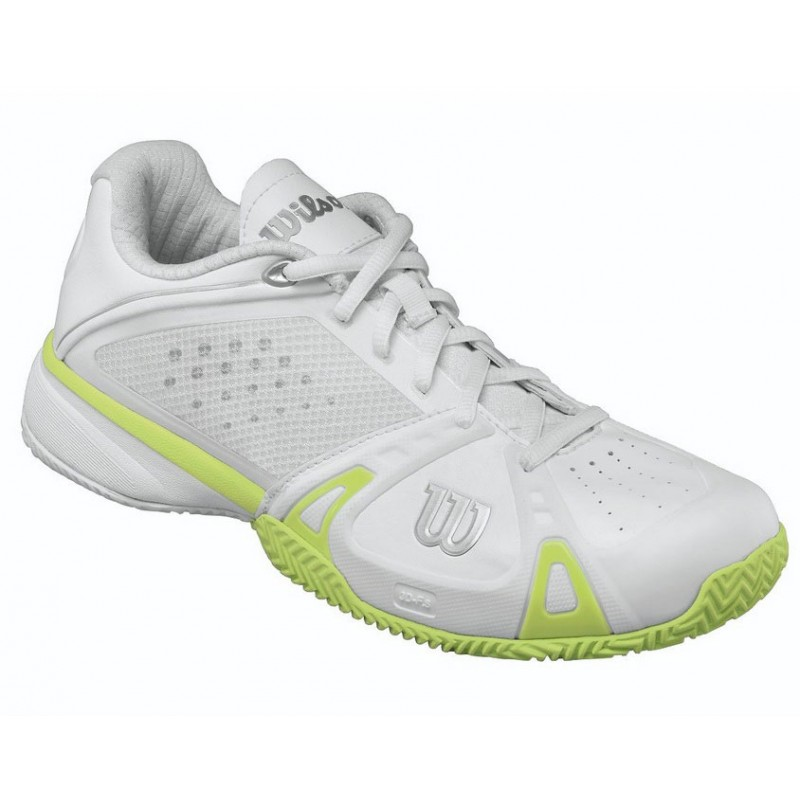 wilson s pro tennis shoes white lime review