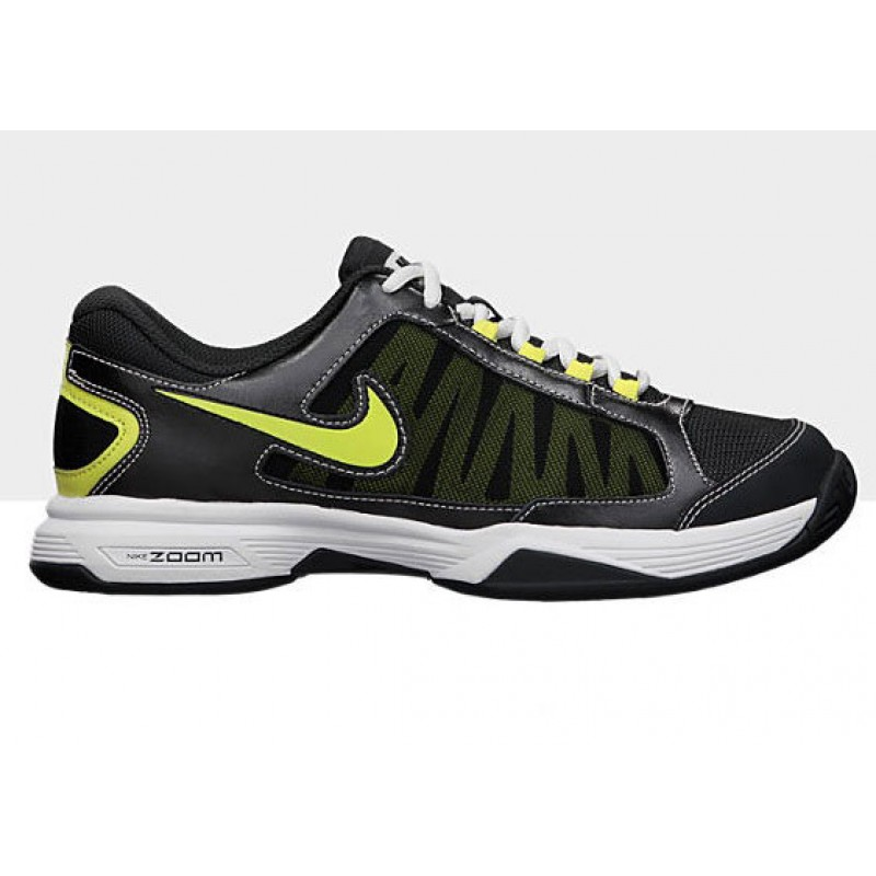 nike s zoom courtille 3 tennis shoes anth yellow