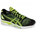 Asics Gel Solution Speed Black + Yellow Men's Tennis Shoes