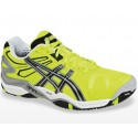 Asics Gel Resolution 5 Yellow + Black Men's Tennis Shoes