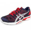 Asics Gel Solution Speed Navy + Pink Women's Tennis Shoes