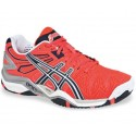 Asics Gel Resolution 5 Pink + Navy Women's Tennis Shoes