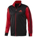 Adidas Men's Varsity Track Tennis Jacket