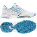 Adidas Adizero Allegra II White + Aqua Women's Tennis Shoes