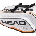 Head Djokovic Combi 6 Racquets Pack Tennis Bag