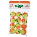 Prince Stage 2 Orange Tennis Balls (12 Per Pack)