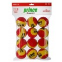 Prince Stage 3 Red Felt Tennis Balls (12 Per Pack)