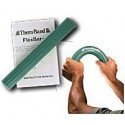 Thera-Band Flexbar Hand Exerciser - Tennis Elbow Relief Bar Green Medium