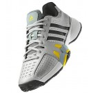 Adidas Barricade Team 2.0 Black + Silver Men's Tennis Shoes