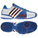 Adidas Barricade 7.0 White + Blue Men's Tennis Shoes