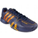 Adidas Barricade 7.0 Urban Sky + Gold Men's Tennis Shoes