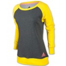 Adidas Women's Boyfriend Long Sleeve Crew Tennis Top