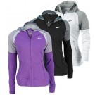 Nike Women's French Terry Hoodie Tennis Top