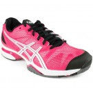 Asics Gel Solution Slam Pink + Black Women's Tennis Shoes