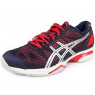 Asics Gel Solution Speed Clay Navy + Orange Women's Tennis Shoes
