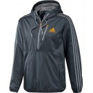 Adidas Men's Ultimate Woven 1/2 Zip Hoodie Tennis Top