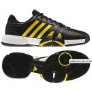 Adidas Bercuda 2.0 Black + Yellow Men's Tennis Shoes