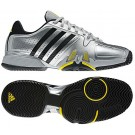 Adidas Barricade 7.0 Silver + Black Men's Tennis Shoes