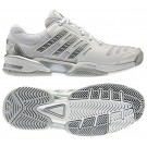 Adidas Response Comp 2.0 White + Silver Women's Tennis Shoes