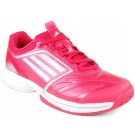 Adidas Adizero Tempaia II W Pink + White Women's Tennis Shoes