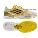 Adidas Adizero CC Feather II Yellow + White Men's Tennis Shoes
