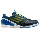 Adidas Adizero Feather II Blue + Yellow Men's Tennis Shoes