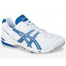 Asics Gel Game 4 White + Blue Men's Tennis Shoes