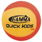 Gamma Quick Kids Red Foam Tennis Balls (12 Per Pack)