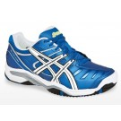 Asics Gel Challenger 9 Blue + Whiteite Men's Tennis Shoes