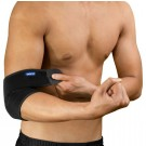 Yasco Breathable Neoprene Elbow Support, One Size, Black