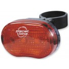 "Planet Bike Blinky ""3"" 3-Led Rear Bicycle Light"