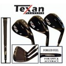 Texan Classics Gun Metal Wedge (Set Of 3 52, 56, 60)