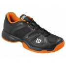 Wilson Men's Stance Elite Tennis Shoes Black + Orange