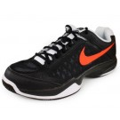 Nike Air Cage Court Men's Tennis Shoes Black + Orange