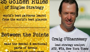 25 Golden Rules of Tennis Strategy