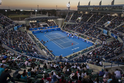 Abu Dhabi Tennis Exhibition